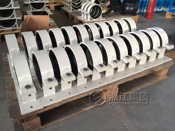GDU3型管道管夹橡胶减震器组装发货