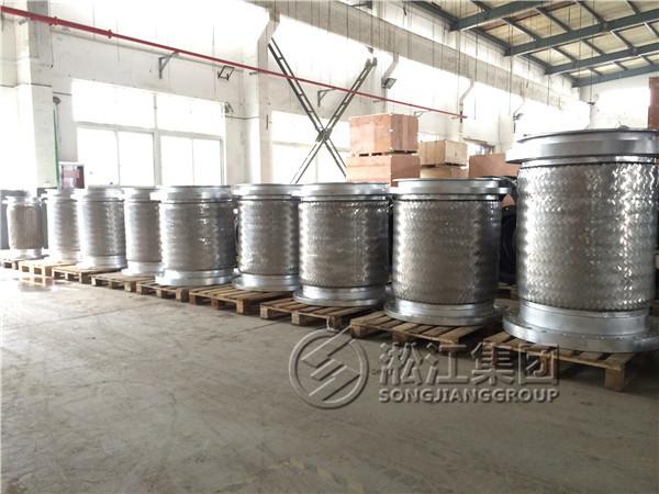 发往印尼金光集团OKI造纸厂项目的不锈钢金属软连接